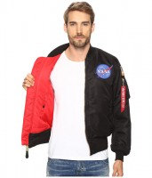 Куртка Alpha Industries Apollo MA-1 Flight Jacket Black