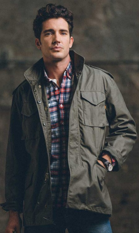 Куртка Slim Fit M-65 Field Coat Alpha Industries Olive