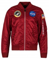 Вітровка L-2B NASA Flight Jacket Alpha Industries Commander Red