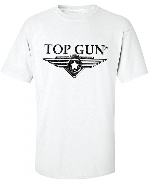 Футболка Top Gun Wing Logo Tee White