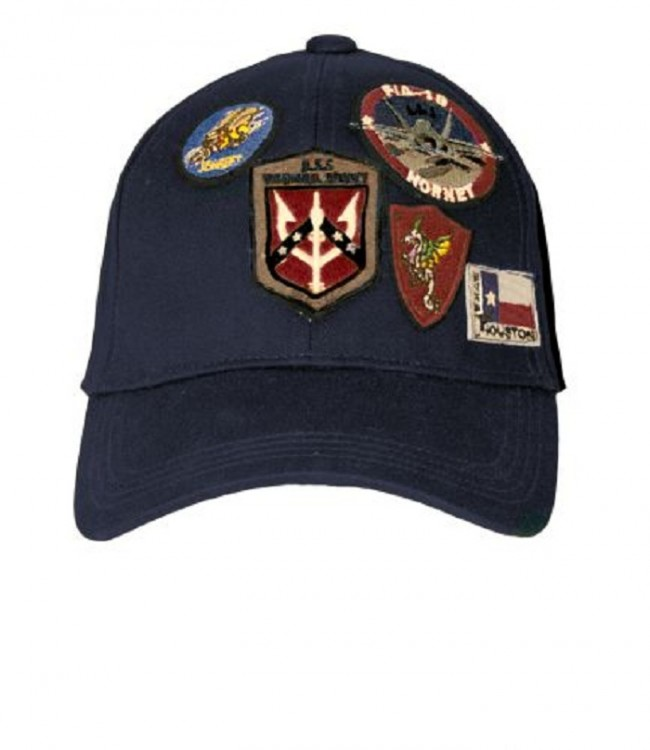 Кепка Top Gun Cap With Patches Navy