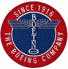 Нашивка Boeing Totem Patch