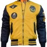 Бомбер Top Gun MA-1 Color Block Bomber Jacket Yellow Navy