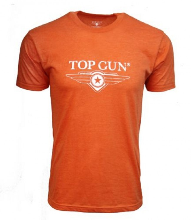 Футболка Top Gun Ultra-Soft Logo Tee Orange