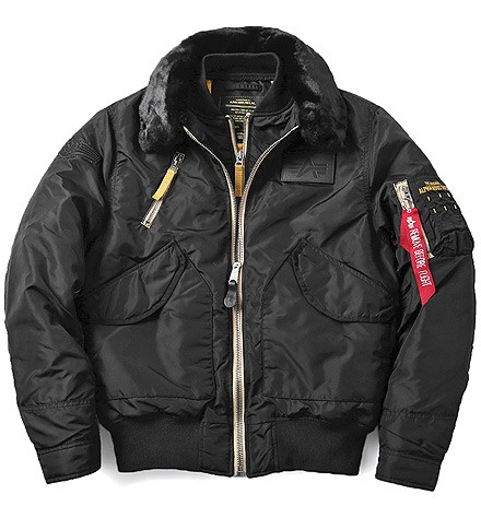 Куртка B-15 Air Frame Alpha Industries Flight Jacket Black