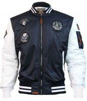 Бомбер Top Gun MA-1 Color Block Bomber Jacket Navy