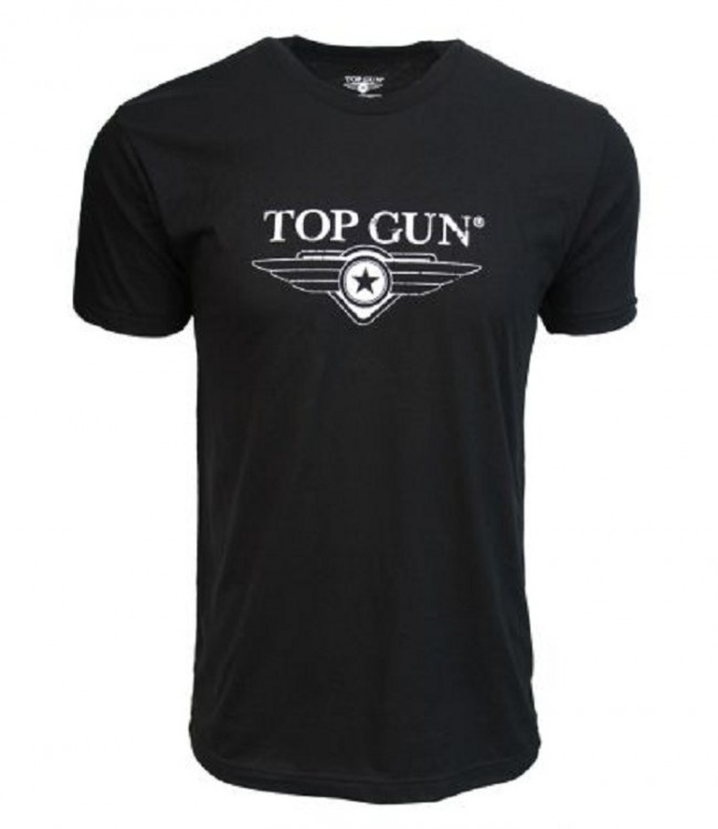 Футболка Top Gun Ultra-Soft Logo Tee Black