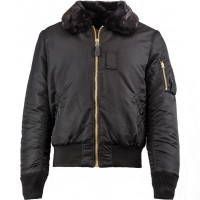 Куртка B-15 Slim Fit Alpha Industries Black