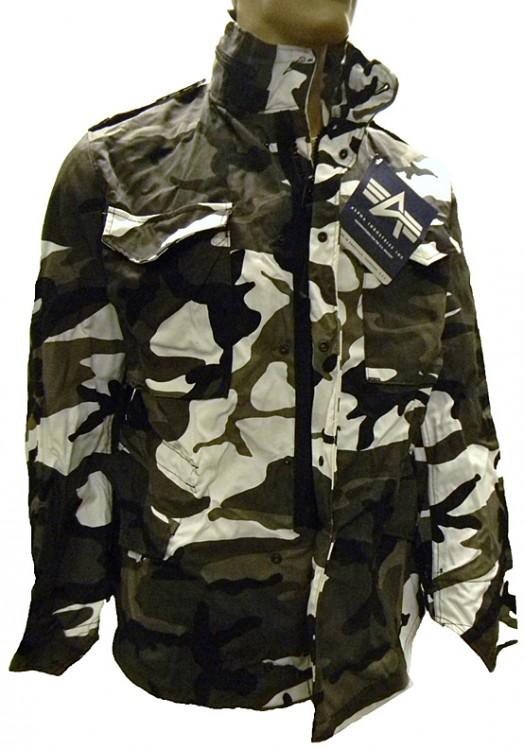 Куртка Alpha Industries M-65 Field Coat Urban Camo