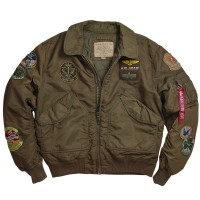 Куртка CWU Pilot X Alpha Industries Brown