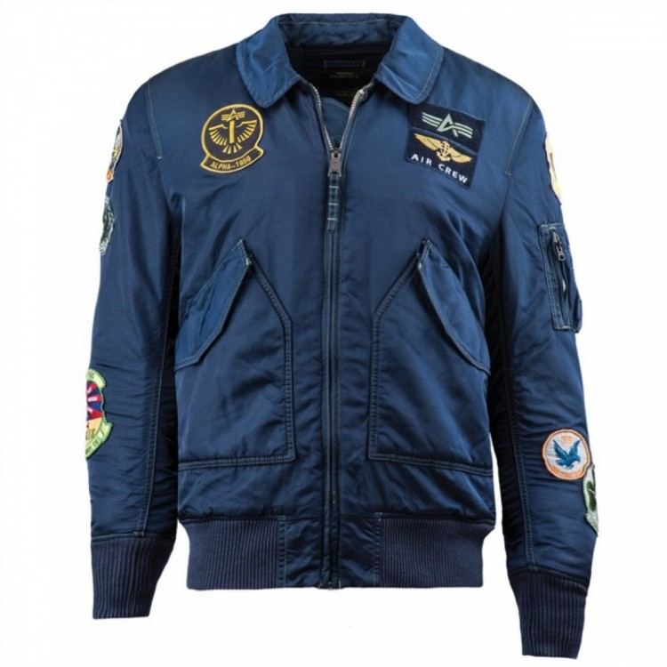 Куртка CWU Pilot X Alpha Industries Navy