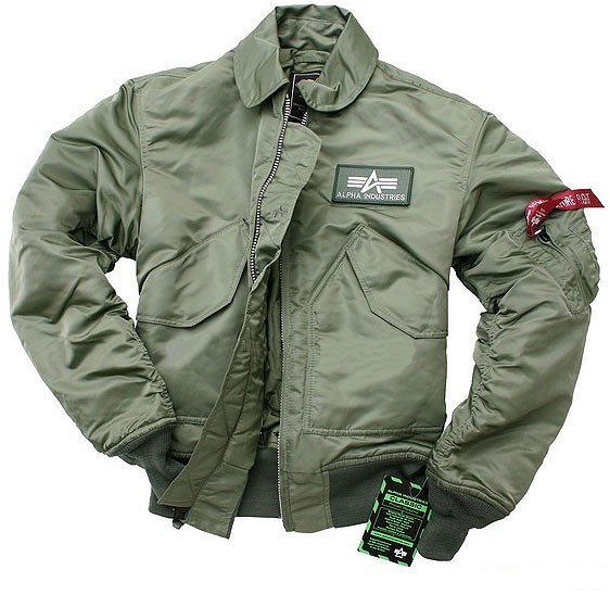 Куртка CWU 45/P Alpha Industries Olive