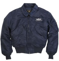 Куртка CWU 45/P Flight Jacket Navy