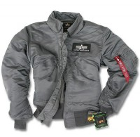 Куртка CWU-45P Alpha Industries Gun Metal