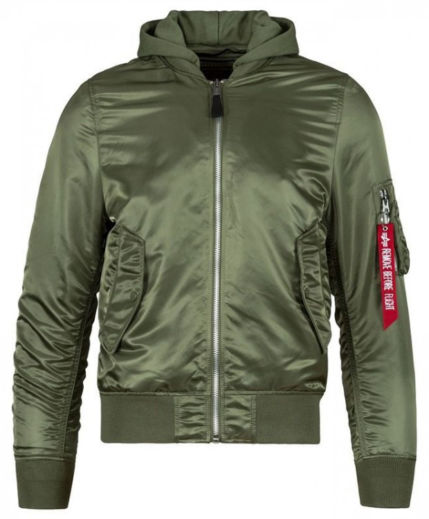 Вітровка L-2B Natus Flight Jacket Alpha Industries (оливкова)