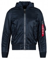 Вітровка L-2B Natus Flight Jacket Alpha Industries (синя)