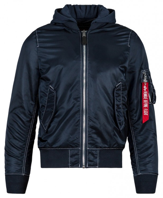 Вітровка L-2B Natus Flight Jacket Alpha Industries Blue
