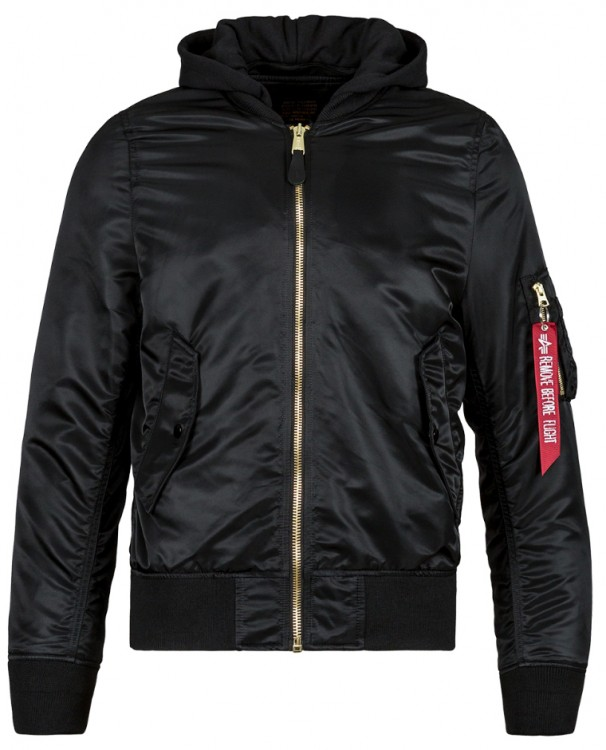 Вітровка L-2B Natus Flight Jacket Alpha Industries (чорна)