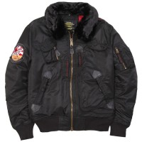 Куртка Injector Alpha Industries Washed Black