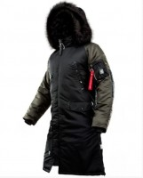 Куртка AirBoss Parka Shuttle Challenger Black
