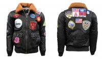 Шкіряна куртка Top Gun 2 Maverick Official Signature Series Flight Jacket 2.0 Brown