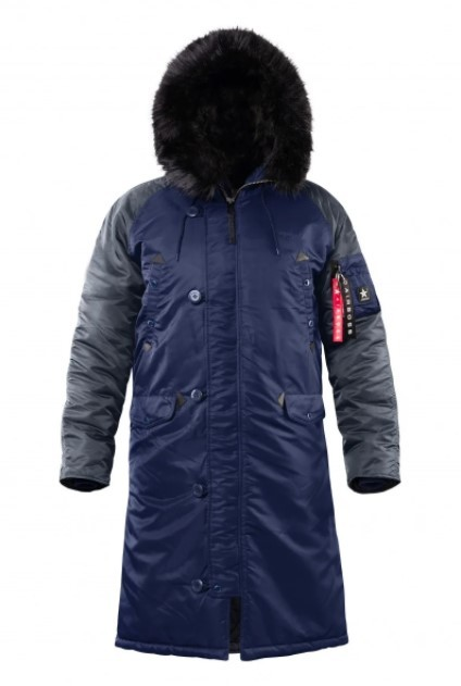 Куртка AirBoss Parka Shuttle Challenger Blue\Grey