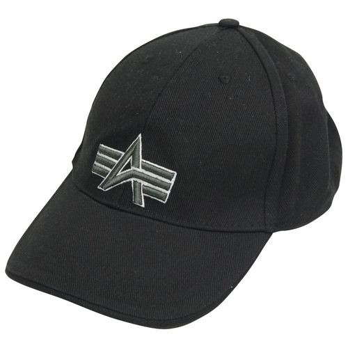 Кепка Big A Cap Alpha Industries (чорна)