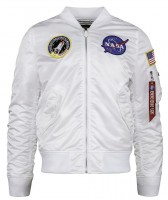 Вітровка L-2B NASA Flight Jacket Alpha Industries (біла)