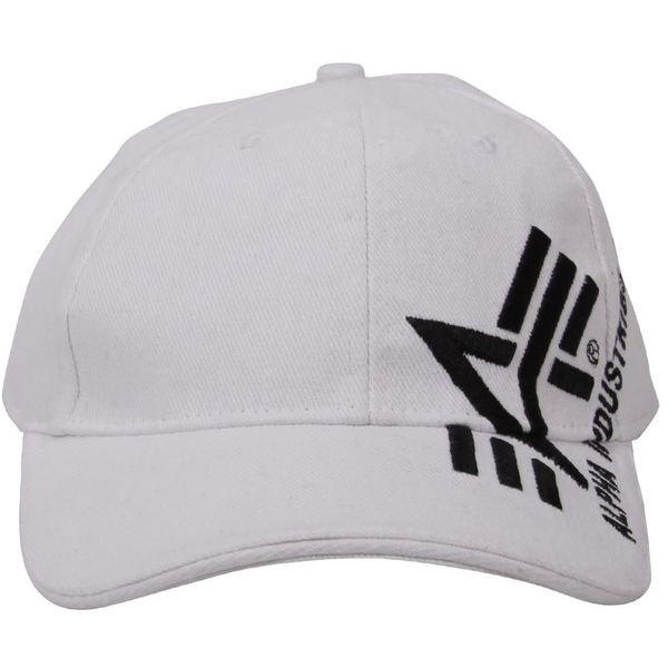 Кепка Big A Cross Cap Alpha Industries (біла)