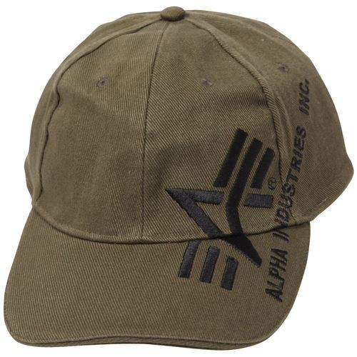 Кепка Big A Cross Cap Alpha Industries (оливкова)