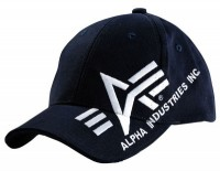 Кепка Big A Cross Cap Alpha Industries (синя)