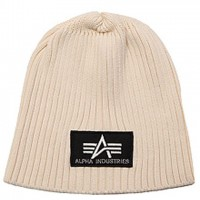 Шапка Heavy Rib Beanie Alpha Industries (біла)