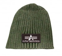 Шапка Heavy Rib Beanie Alpha Industries (оливкова)
