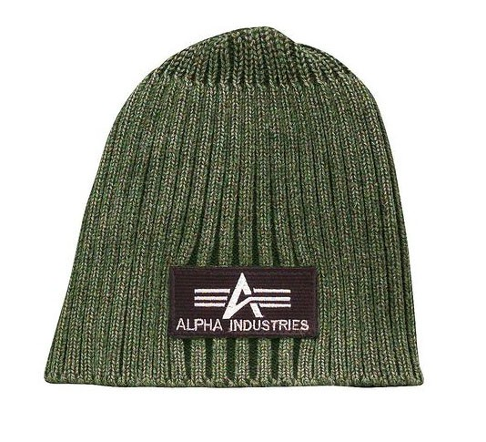 Шапка Heavy Rib Beanie Alpha Industries Olive