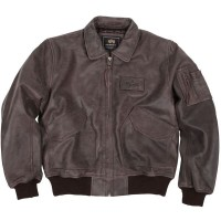 Куртка CWU 45P Flight Jacket Brown