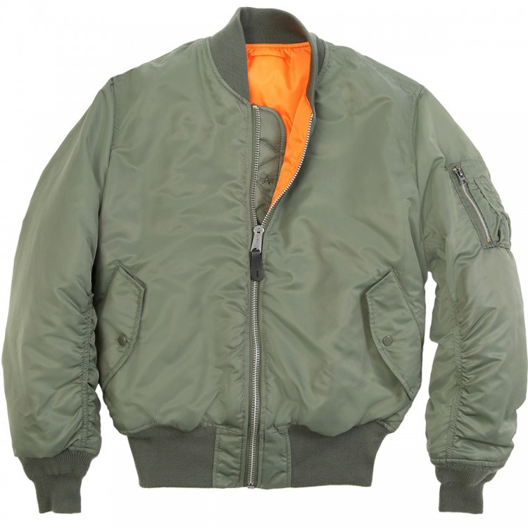 Куртка MA-1 ALPHA INDUSTRIES Olive
