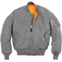 Куртка MA-1 Flight Jacket Alpha Industries  Gun Metal