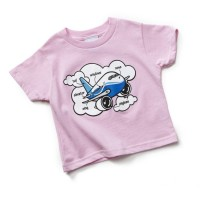 Дитяча футболка Boeing Airplane Parts Toddler pink