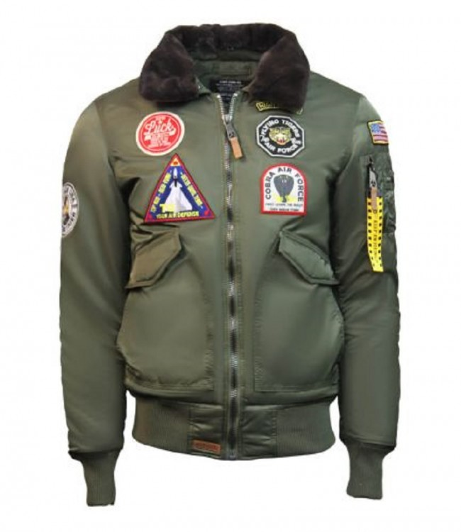 Бомбер Top Gun Eagle CW45 Jacket TGJ1938 Olive