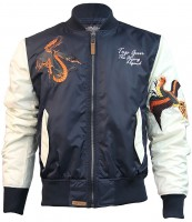 Куртка Top Gun The Flying Legend Bomber Jacket Navy