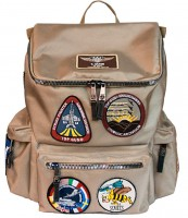 Рюкзак Top Gun backpack with patches Khaki