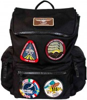 Рюкзак Top Gun backpack with patches Black