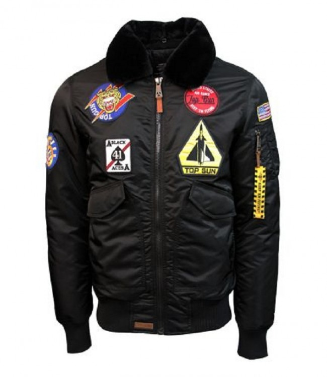 Бомбер Top Gun CW45 Eagle II Jacket Black TGJ2038