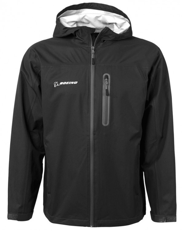 Boeing Waterproof Dobby Jacket Black