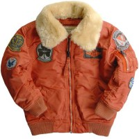 Дитяча куртка Boys Maverick Jacket Alpha Industries Rust
