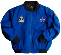 Дитяча куртка Alpha Indusries Youth NASA Astronaut Flight Jacket Blue