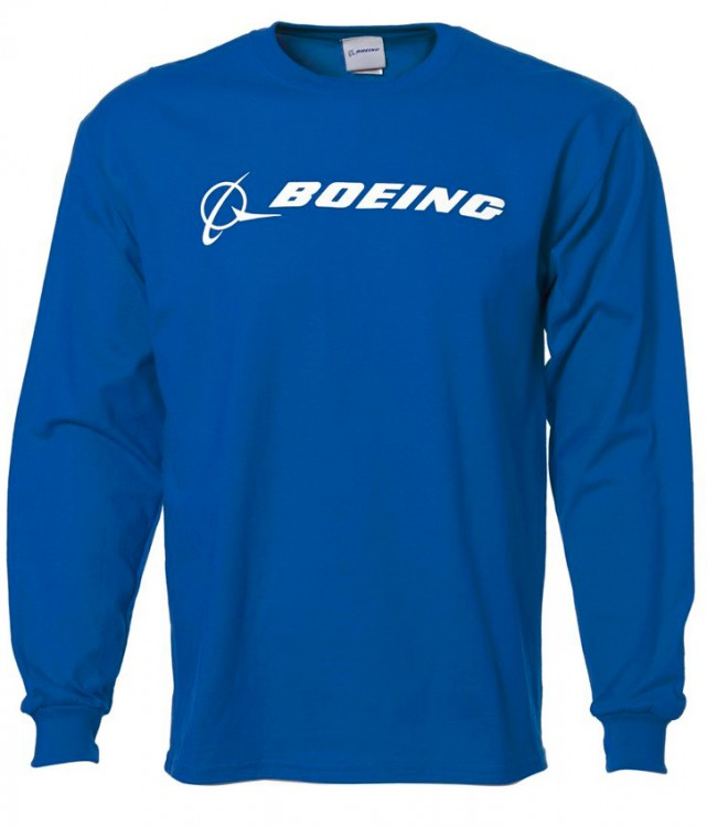 Реглан Boeing Long Slv Signature T-shirt (blue)
