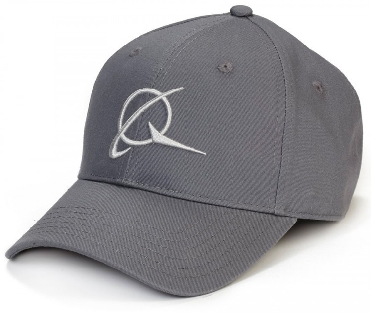 Бейсболка Boeing Symbol with Raised Embroidery Hat Grey
