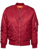 Жіноча куртка бомбер MA-1 W Flight Jacket Alpha Industries Red