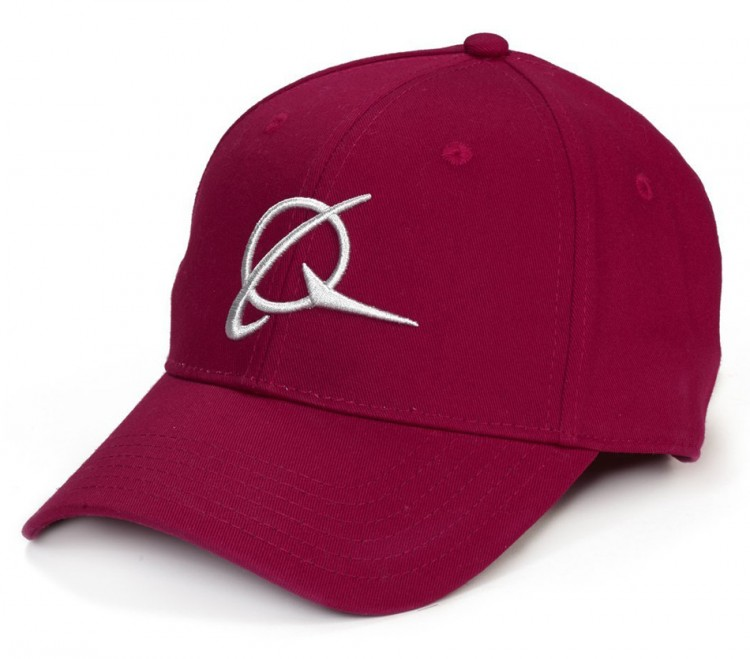 Бейсболка Boeing Symbol with Raised Embroidery Red